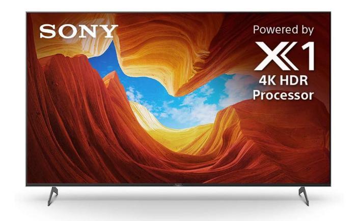 Dòng tivi Sony Bravia X900H